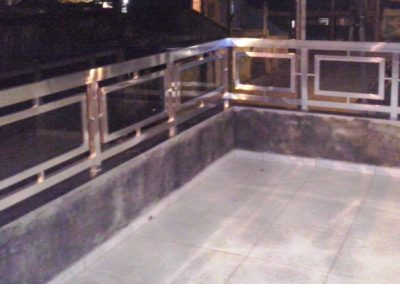 Guarda Corpo de Alumínio e Vidro